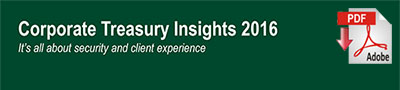 Corporate Treasury Insights 2016